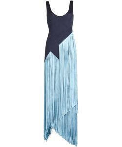 GALVAN | Fringed Jersey Dress Gr. Fr 38
