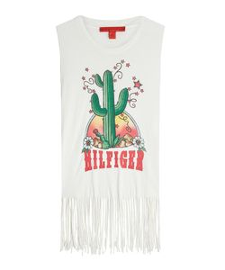 Hilfiger Collection | Printed Vest With Fringe Gr. Us 2
