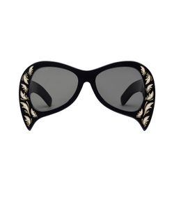 Gucci | Oversized Sunglasses With Mother Of Pearl Gr. One Size