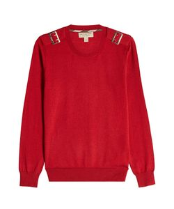 Burberry London | Wool Pullover With Buckles Gr. S