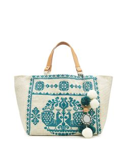 Star Mela | Embroidered Tote Gr. One Size