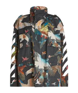 Off White | Printed Cotton Parka Gr. S