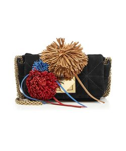 Sonia Rykiel | Le Copain Suede Shoulder Bag With Pompoms Gr. One Size