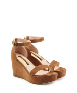 Rupert Sanderson | Suede Platform Sandals Gr. It 41