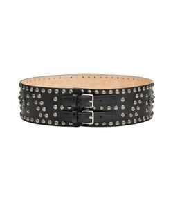 Alexander McQueen | Embellished Leather Belt Gr. 80