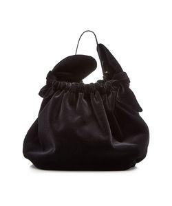 Simone Rocha | Double Bow Velvet Bag Gr. One Size