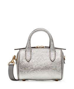 Anya Hindmarch | Vere Barrel Circulus Mini Leather Tote Gr. One Size