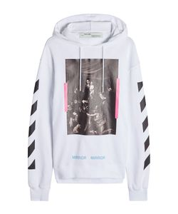 Off White | Printed Cotton Hoodie Gr. M