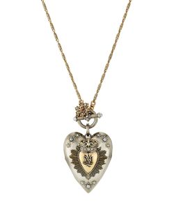 Alexander McQueen | Heart Charm Necklace Gr. One Size