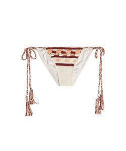 ANNA KOSTUROVA | Embellished Crochet Bikini Bottoms Gr. Xs