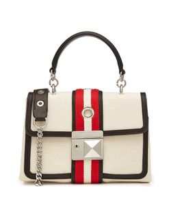 Sonia Rykiel | Canvas Shoulder Bag With Leather Gr. One Size