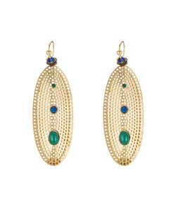 GAS BIJOUX | Chiara 24k Plated Earrings Gr. One