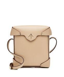 Manu Atelier | Mini Pristine Leather Shoulder Bag Gr. One