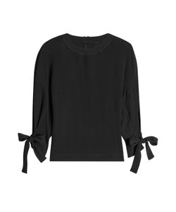 ROSETTA GETTY | Blouse With Knotted Sleeves Gr. Us 2