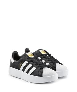 adidas Originals | Superstar Platform Leather Sneakers Gr. Uk 3.5
