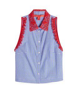 Hilfiger Collection | Sleeveless Cotton Shirt Gr. Us 6
