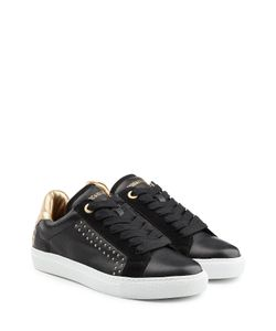 Zadig & Voltaire | Embellished Leather And Suede Sneakers Gr. It 40