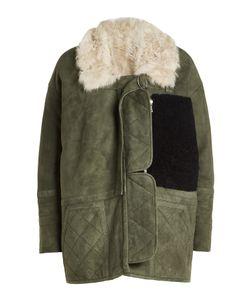 Sandy Liang | Suede Shearling Jacket Gr. Fr 36