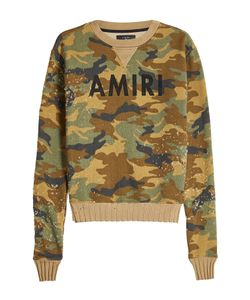 AMIRI | Distressed Cotton Sweatshirt Gr. Xl
