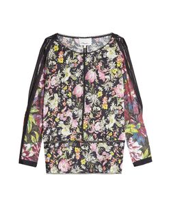 3.1 Phillip Lim | Printed Silk Blouse With Slits Through Sleeves Gr. Us 2