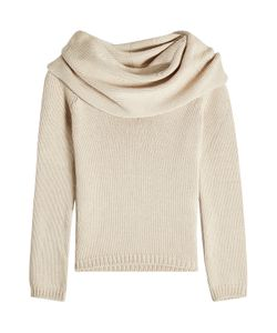 ROSETTA GETTY | Off-Shoulder Pullover With Wool Gr. S