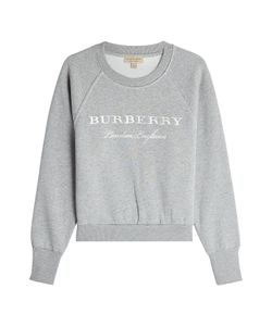 Burberry | Embroidered Cotton Sweatshirt Gr. S