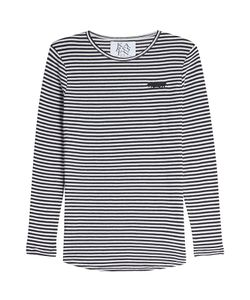 Zoe Karssen | Striped Top With Cotton Gr. L