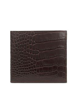 Smythson | Mara Embossed Leather Wallet Gr. One