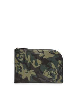 Alexander McQueen | Printed Leather Pouch Gr. One Size