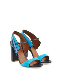 MALONE SOULIERS | Suede And Leather Sandals Gr. Eu 37.5