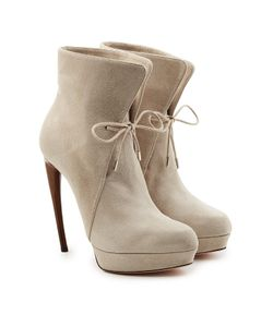 Alexander McQueen | Leather Ankle Boots With Stiletto Heel Gr. It 40