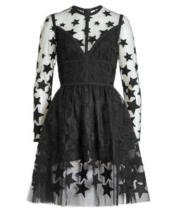 Elie Saab | Embroidered Mini Dress With Cotton Gr. Fr 36