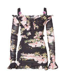 Alessandra Rich | Silk Mini Dress Gr. It 38