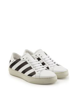 Off White | Printed Leather Sneakers Gr. It 38