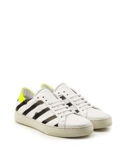 Off White | Printed Leather Sneakers Gr. Eu 44