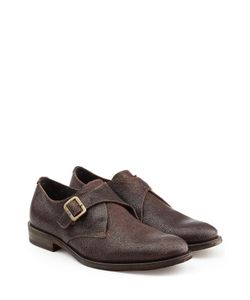 Fiorentini+Baker | Leather Monk Strap Shoes Gr. Eu 42.5