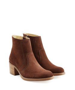 A.P.C. | Suede Ankle Boots Gr. Eu 41