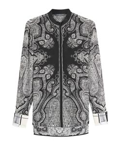 Alexander McQueen | Printed Silk Blouse Gr. It 40