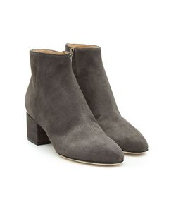 Sergio Rossi | Suede Ankle Boots Gr. It 38