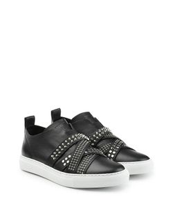Dsquared2 | Leather Sneakers With Studded Straps Gr. It 40