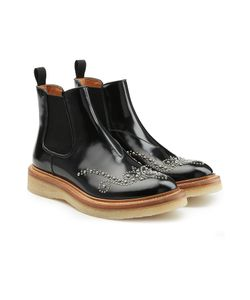 Church'S | Embellished Patent Leather Ankle Boots Gr. Eu 36