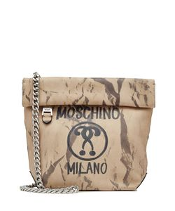 Moschino | Printed Leather Shoulder Bag Gr. One Size