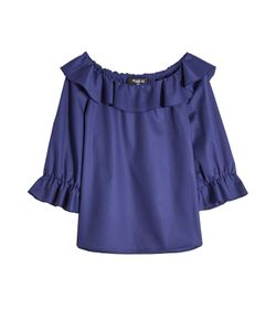 Paule Ka | Cotton Blouse With Ruffles Gr. Fr 38