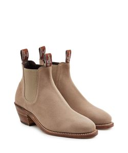 R.M. Williams | Suede Ankle Boot Heels Gr. Us 10