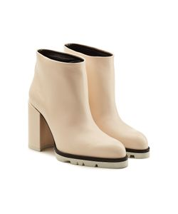 Jil Sander | Leather Ankle Boots Gr. It 37