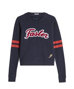 Mother | Faster Cotton Sweatshirt Gr. S
