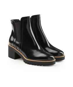 Hogan | Patent Leather Ankle Boots Gr. It 41