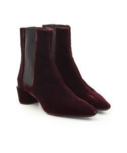 Jil Sander   Velvet Calf Boots Gr. It 39