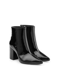 ANINE BING | Patent Leather Ankle Boots Gr. Eu 40