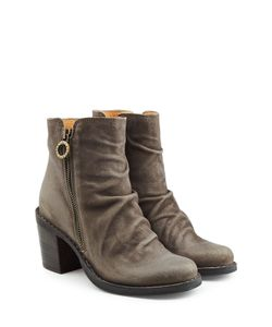 Fiorentini+Baker | Leather Ankle Boots With Zip Gr. It 37